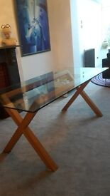 Habitat Glass Dining Room Table