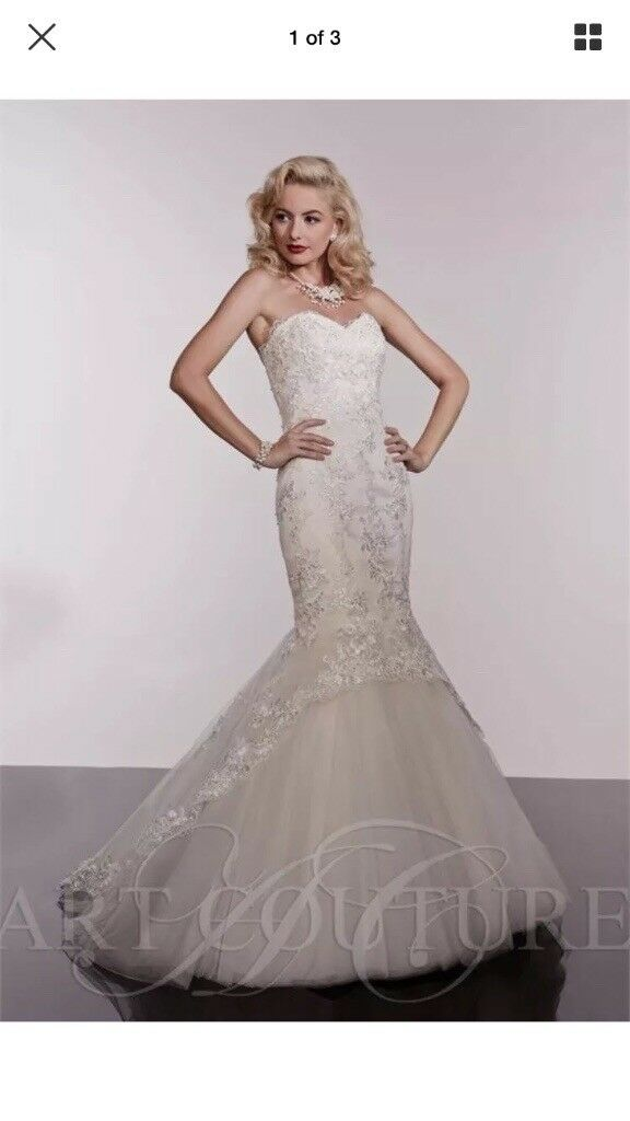Art Couture Wedding Dress Size 6