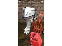 Honda outboard 8hp Short Shaft serviced