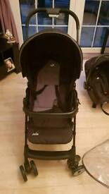 Baby set and pushchair set