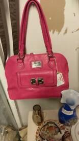 Pink juno bag
