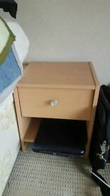 Wardrobe amd bedside table