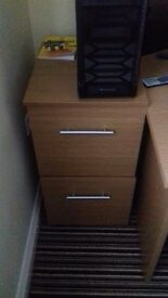 Wooden Filing Cabinet - Good Condition