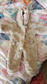 Ted baker snow suit 0-3 months
