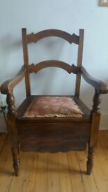 Victorian/Edwardian commode