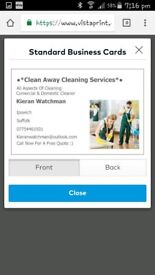 Clean away cleaning services