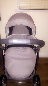 3 in 1 pushchair with isofix