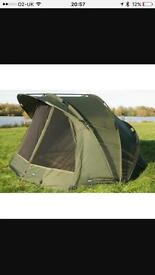 Aqua m3 bivvy & extended wrap used twice