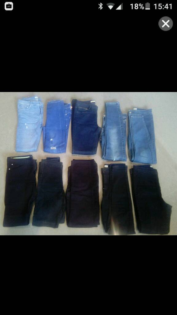 Size 10 jeans, all good condition