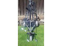 Left Handed Bundle Great Bargain Clubs and Trolley