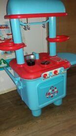 ELC kitchen -blue