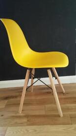 2x BRAND NEW Chairs (Eames style)