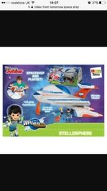 Miles from Tomorrow Stellosphere Playset Kids Toy Fun Miles and Merc figures.(used -As Good As New)