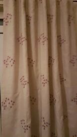 Two Pairs of Next Tab Top Curtains