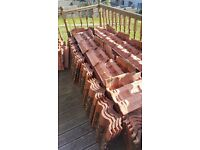 Used roof tiles