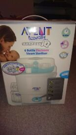 Avent 6 Bottle Electronic Steam Steriliser