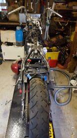 Kawasaki VN800 Bobber Project
