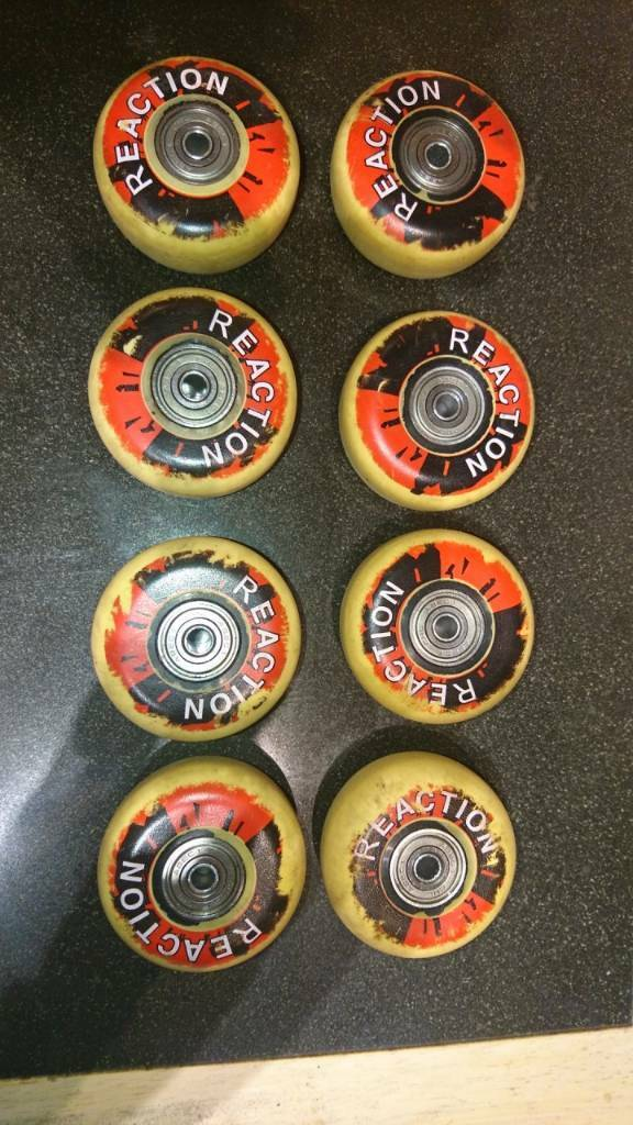 Reaction Inline Skate Wheels