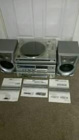 JVC Record player/Amplifier /Radio/Tape deck