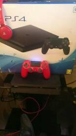 Ps4 slim nearly new