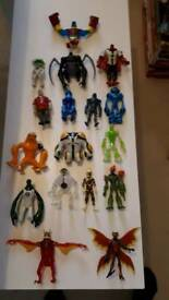 Bundle ben 10 figures