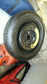 SpaceSaver Tyre Size T 125 / 80 R15