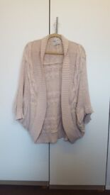 Knitted sweater - Beige Size L