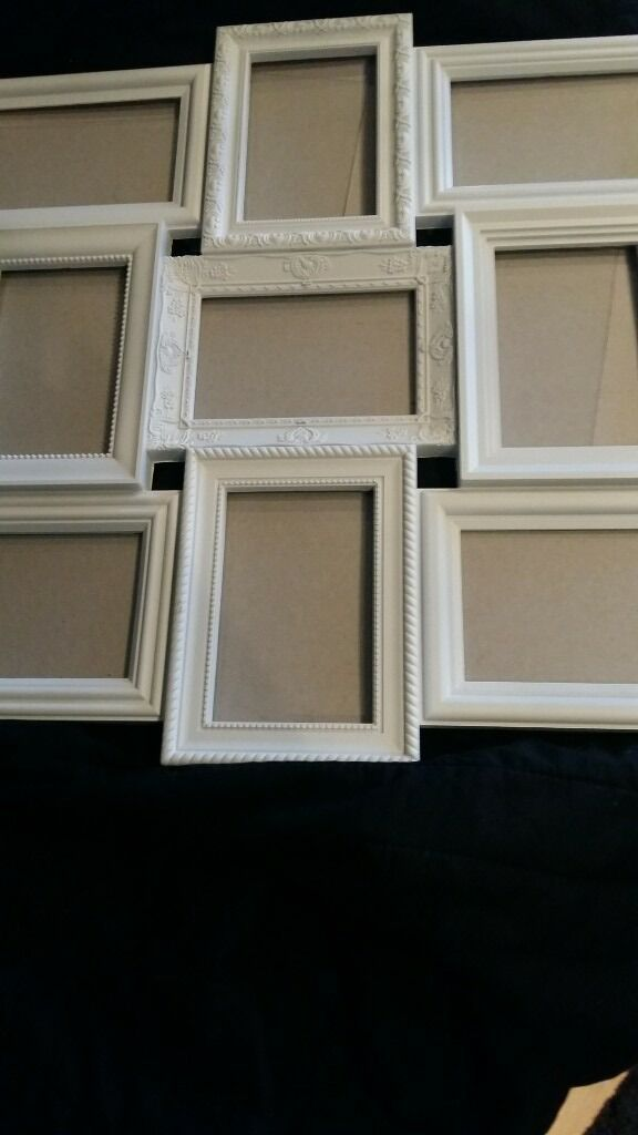 M and S Multi Picture Frame arrangement. Each frame takes 6\