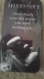 Star wars funny phone case. Brand new. Storm trooper, droid quote.