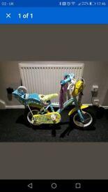 "Girls Apollo Honeybee Bike - 12"" Frame"