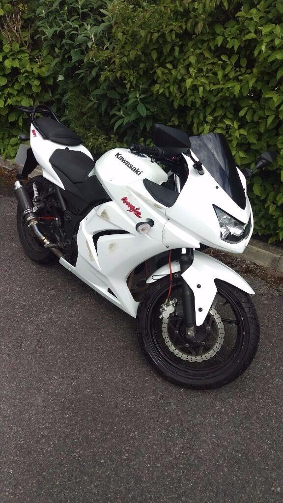 Ninja 250 White >> Kawasaki Ninja 250r 2008 White (12 Months MOT)   in Southampton, Hampshire   Gumtree