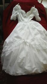 Wedding dress Pronuptia de Paris size 12