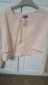 Lipsy cropped wool jacket