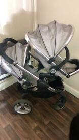 iCandy peach 3, double twin pushchair