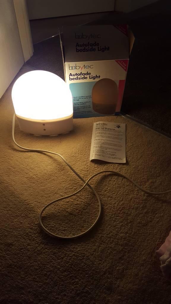 Babytec autofade bedside light
