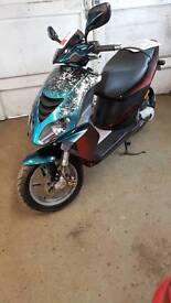 Piaggio NRG DD scooter