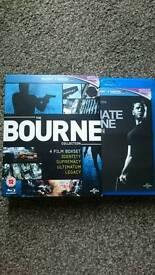 New BLUERAY BOURNE full set