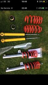 Mk5/mk6 Golf Coilovers apex new never fitted