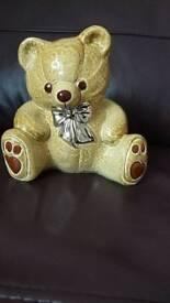 Wade teddy bear money box. MINT cinditiin