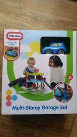 Toys Little Tikes Multi Storey Garage Set BRAND NEW