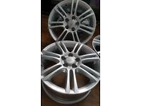 new alloys Irmscher stila 16'' 5x100 6,5Jx16H2 ET 39 with new tyres Dunlop, Continental 205/55/16