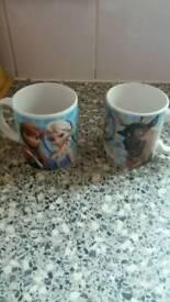 5 frozen kids mugs