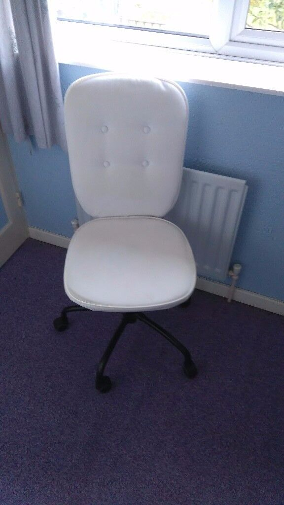 White Swivel Chair LILLHÖJDEN from IKEA