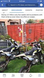 Z3-140cc stomp pitbike