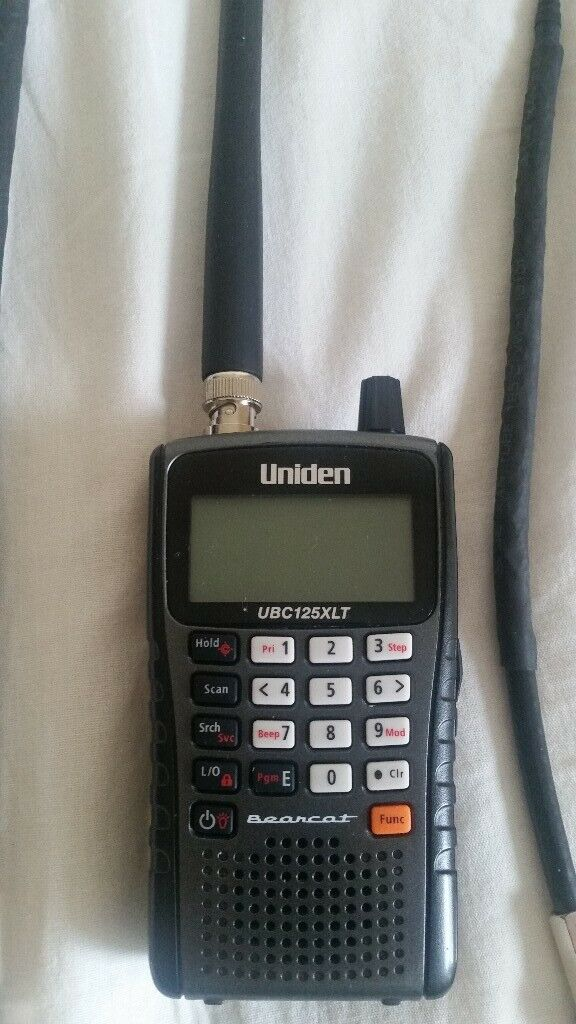 uniden ubc125xlt 500 channel scanner with extras | in Saltburn-by-the-Sea,  North Yorkshire | Gumtree