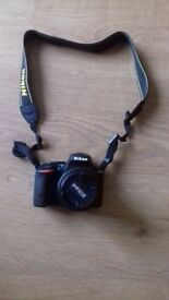 Practically new Nikon D5500 with 18-55mm kit lens in excellent condition