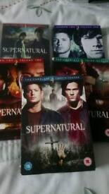 Supernatural boxsets