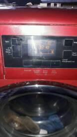 can deliver RED BEKO 9KG drum washing macine 1400rmp
