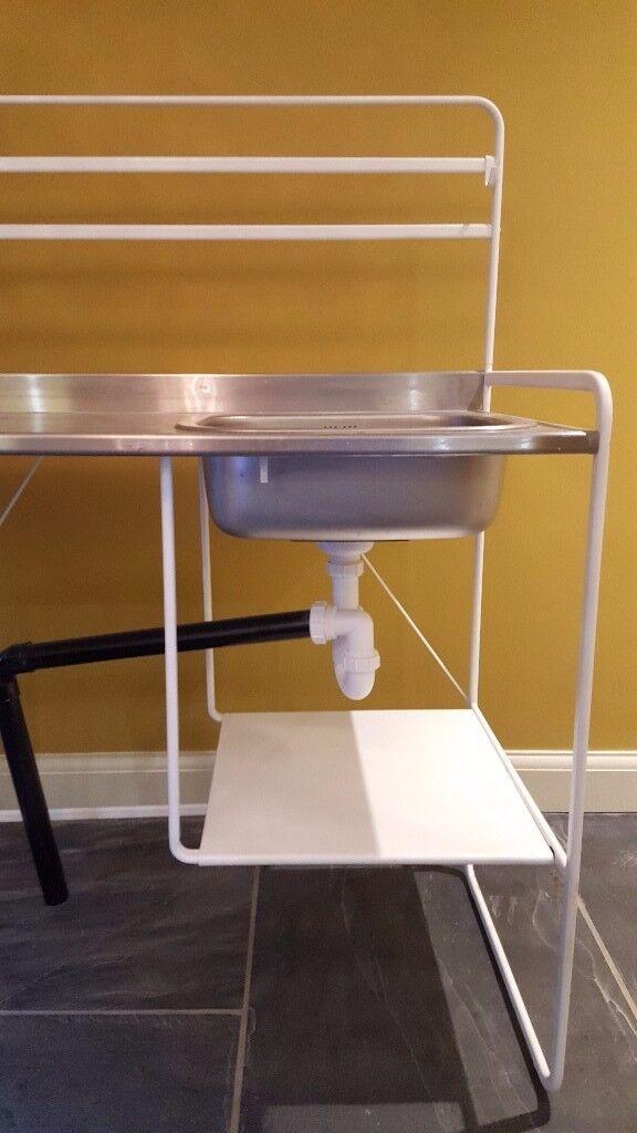 ikea sunnersta mini kitchen 1 in barnes london gumtree. Black Bedroom Furniture Sets. Home Design Ideas