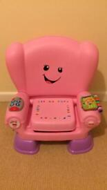 Fisher Price Smart Stages Chair in excellent condition